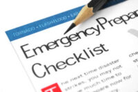Create an Emergency Preparation Checklist